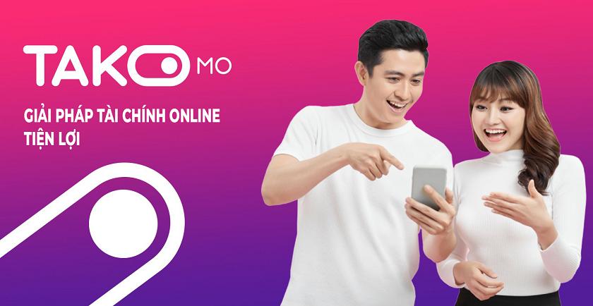 Takomo – Giải pháp vay tiền online đơn giản trên di động. Xét duyệt tối đa đến 10 triệu đồng